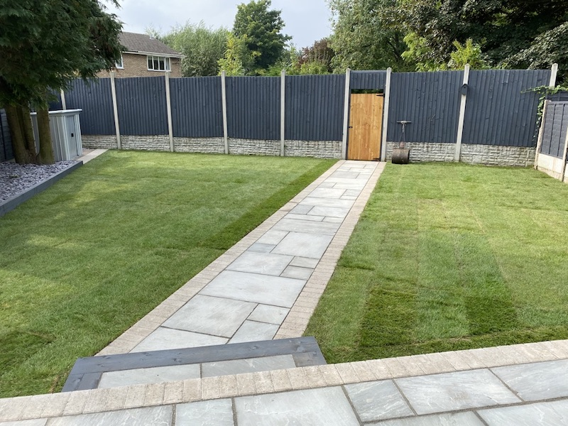 patio completed in Wolverhampton