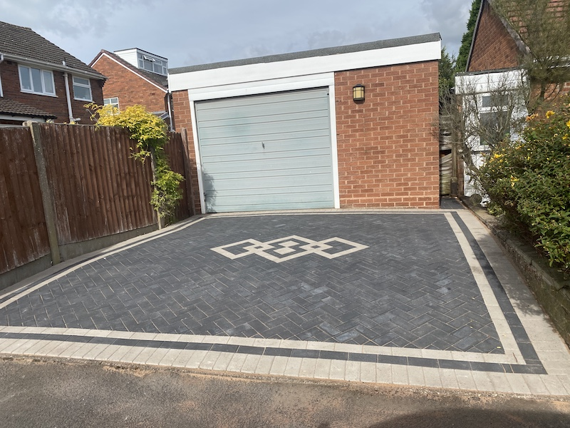 completed block paving in Wolverhampton